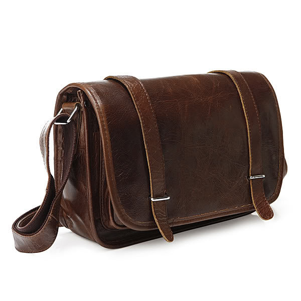 "11"" Leather Messenger Bag - 3118C - Jason Gerald"