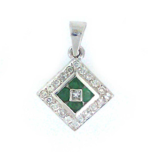 Emerald Square Pendant