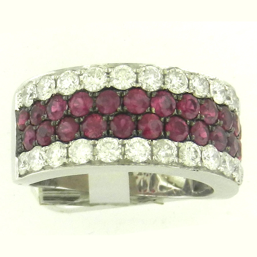 2 Row Ruby Band