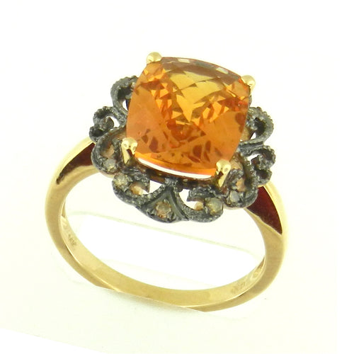Antique Citrine Ring