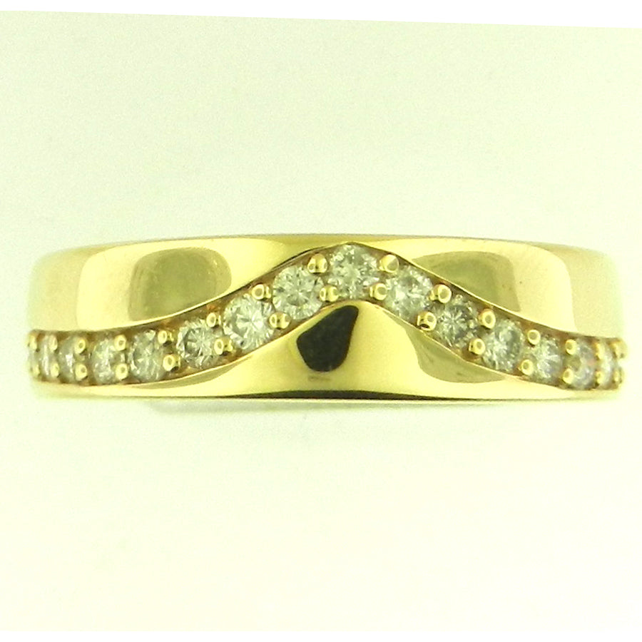 Designer Men's Diamond Band