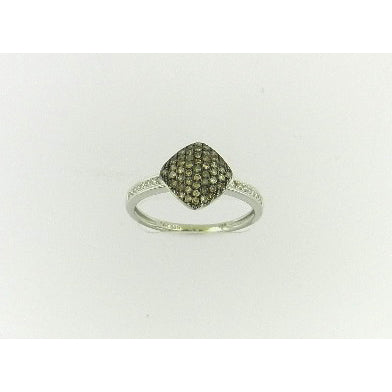 Pave Brown Diamond Ring