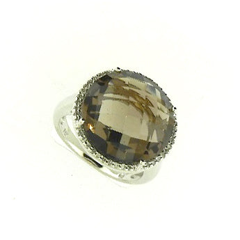 Smokey Topaz Ring