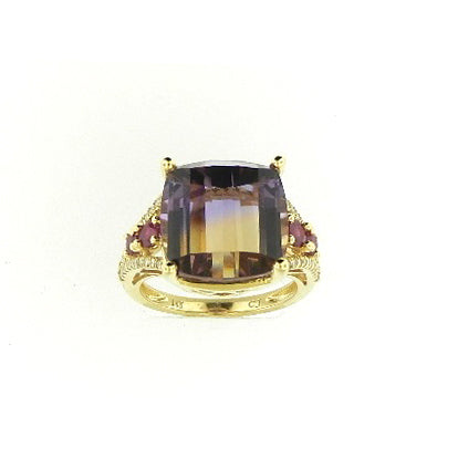 Designer Ruby Ring