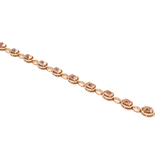 MORGANITE AND DIAMOND BRACELET 30774