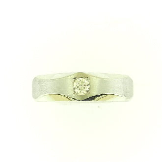 Solitaire Diamond Band