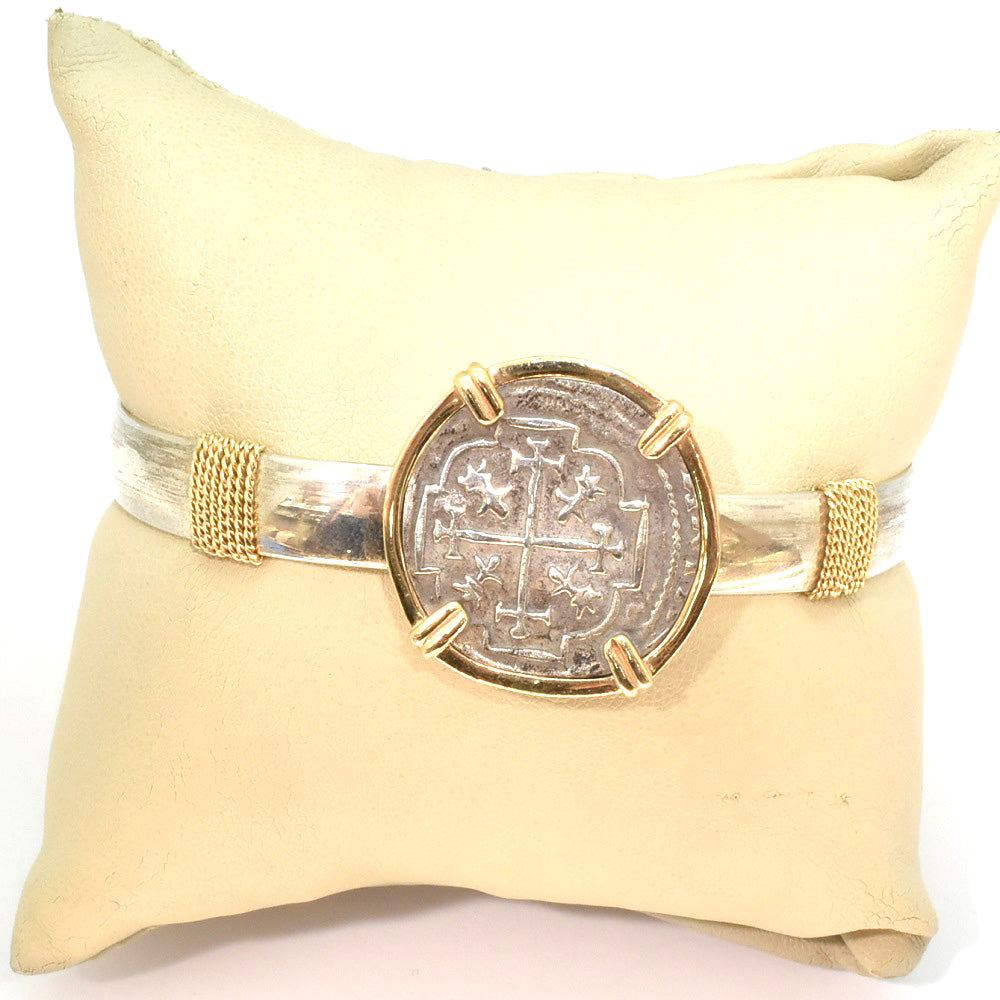 TREASURE COIN BANGLE