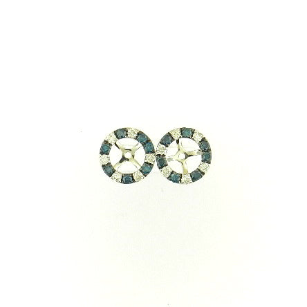 Blue Diamond Earring Jackets