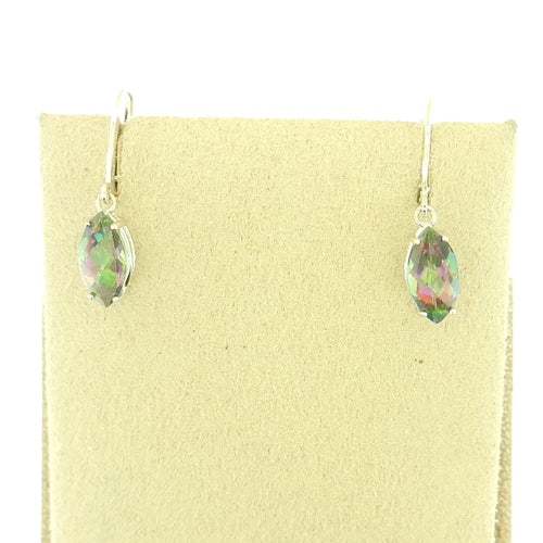 Rainbow Topaz Earrings