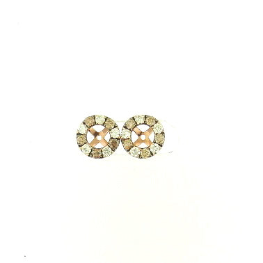 Brown Diamond Earring Jackets