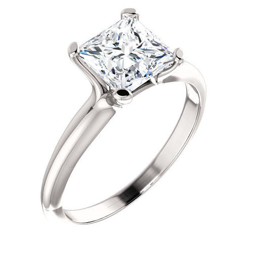 PRINCESS CUT SOLITAIRE