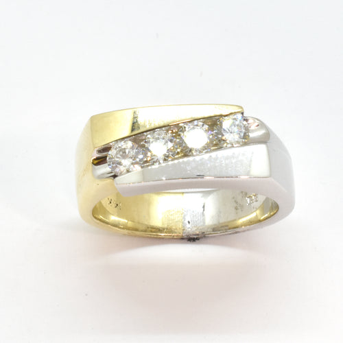 4 Stone Diamond Band