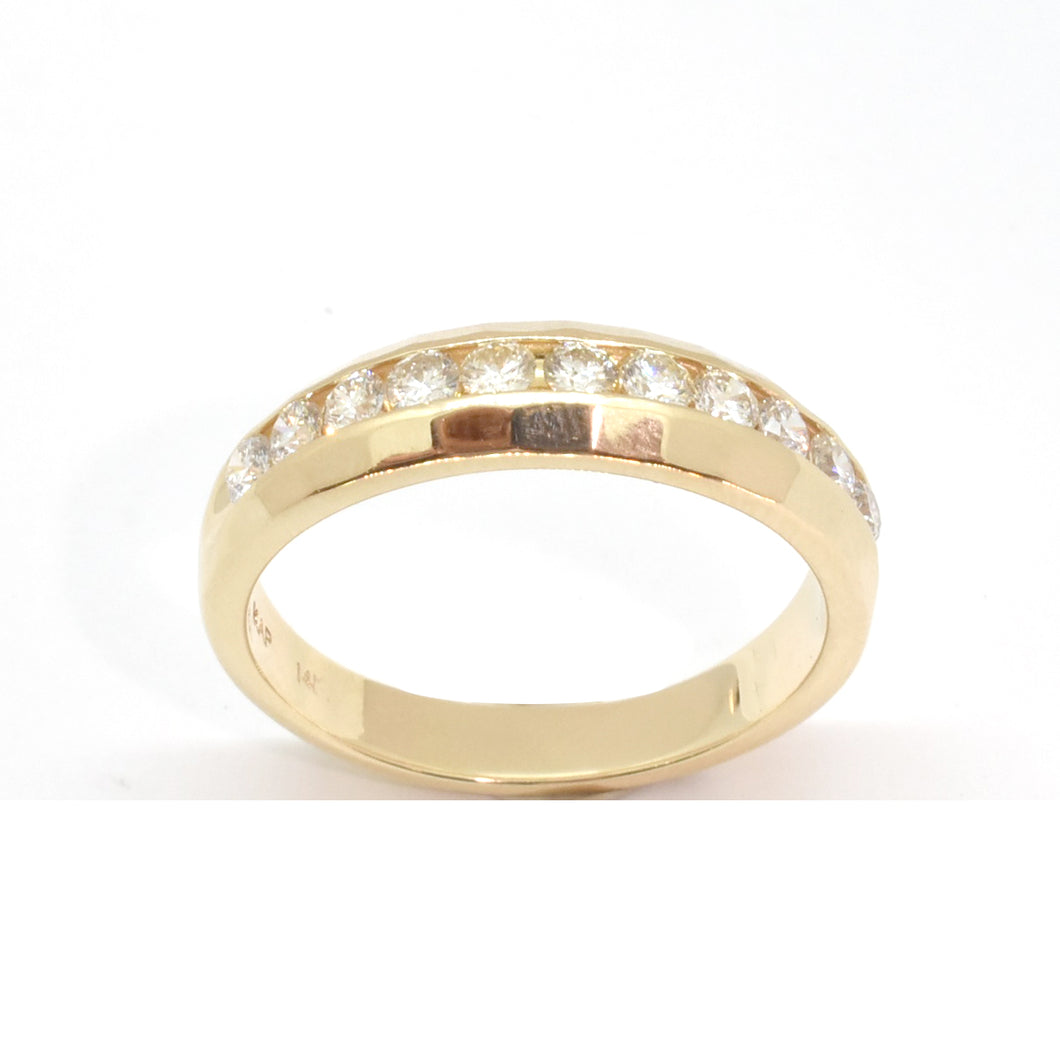 Men's 11 Stone Diamond Band