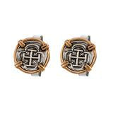 TREASURE COIN CUFF LINKS-34763