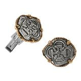 TREASURE COIN CUFF LINKS-34764