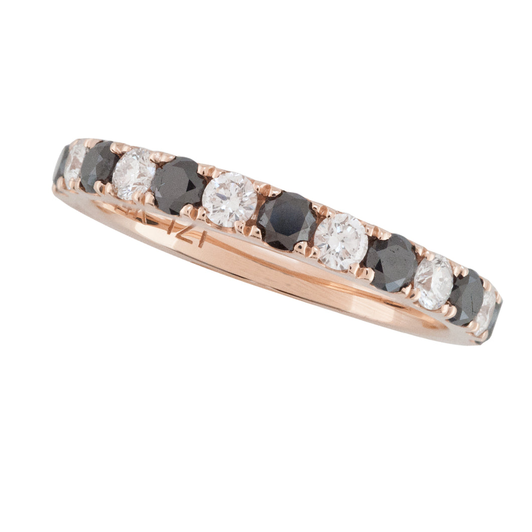 BROWN AND WHITE DIAMOND BAND