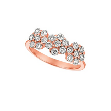 Tri-Floral Ring