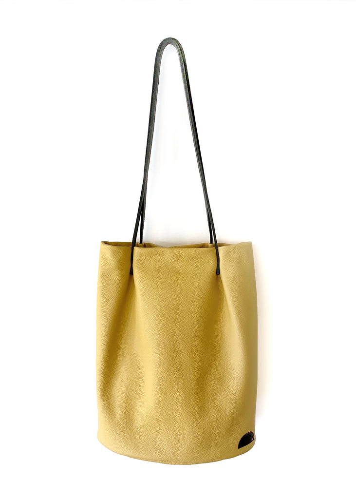 Long Tote in Mustard