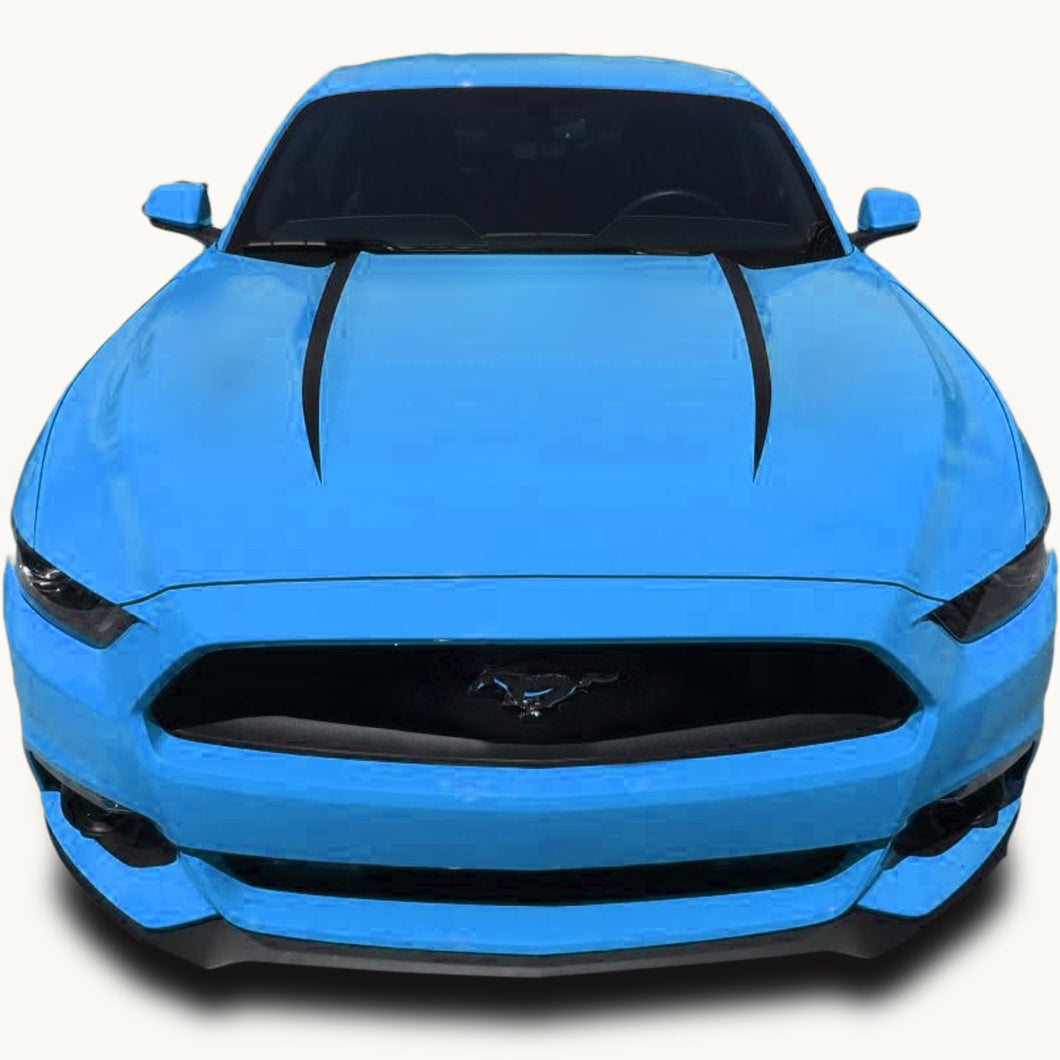 Mustang Dual Hood Spear Accent Decals