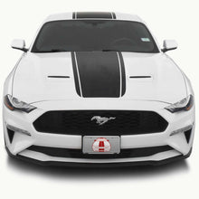 Super Snake Center Stripes for a Ford Mustang (2018, 2019, 2020, 2021)
