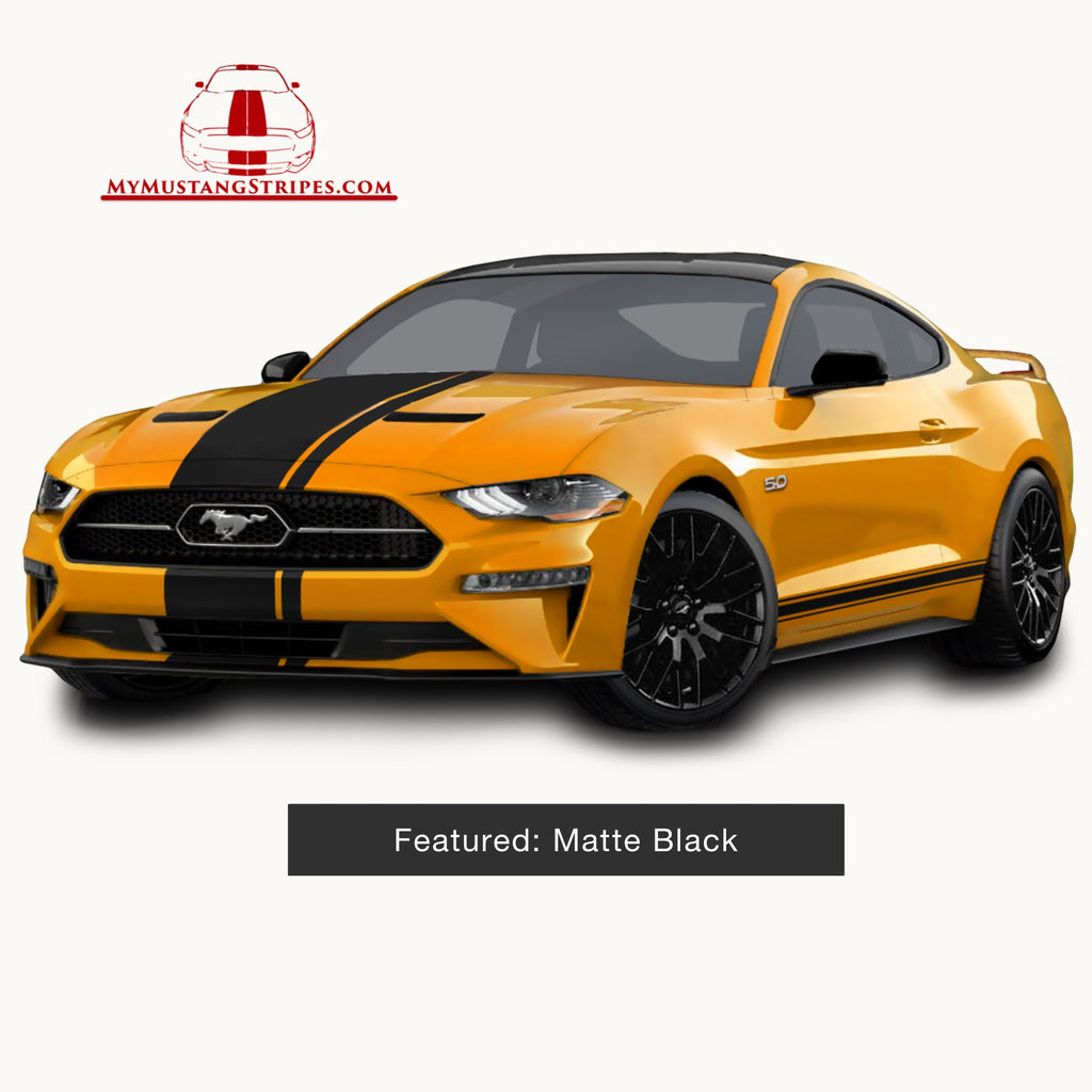 2018: OEM 2018 Mustang Pre-Cut Center Stripe With Matching