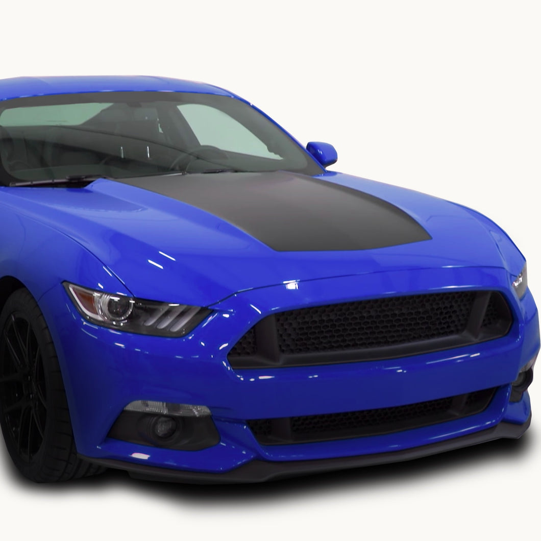 Mustang Solid Hood Decal for 2015 2016 2017