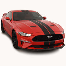 Rally Racing Stripes (with Optional Pinstriping) for a Ford Mustang (2018, 2019, 2020, 2021)