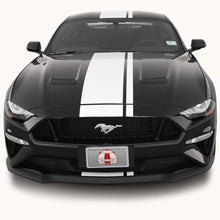 Center Offset Stripes for a Ford Mustang (2018, 2019, 2020, 2021)