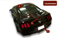 Pre-Cut INDIVIDUAL SECTION: ~Racing Stripes~  Mustang 8-10 Inch