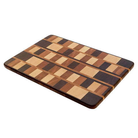Block Pattern Cutting Board (Thin)