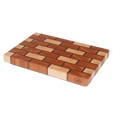 Brick Pattern - End Grain Cutting Board