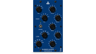 IGS Audio - Rubber Bands Mastering EQ 500