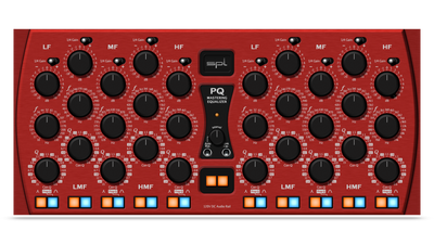 SPL PQ Mastering Equalizer (Red)
