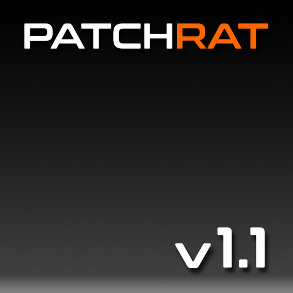 Patchrat v1.1 Update