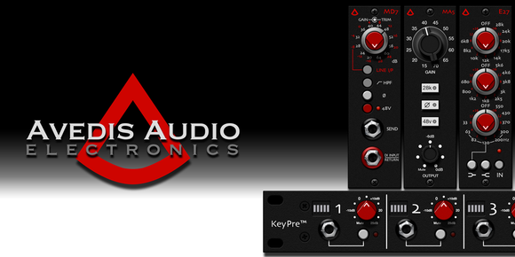 Avedis Audio Electronics Logo on Patchrat