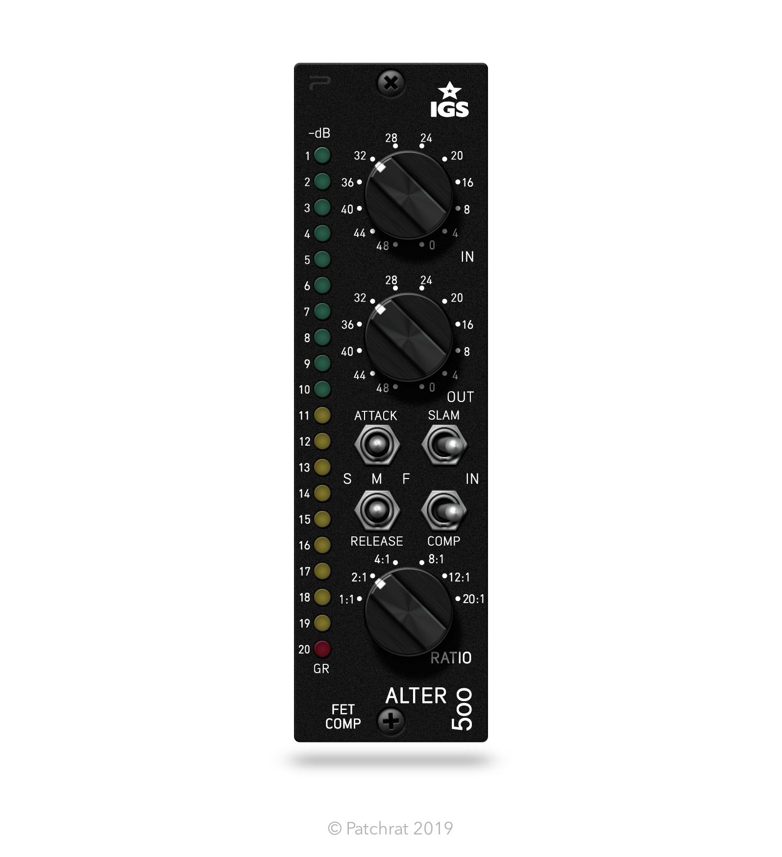 The IGS Audio Alter 500 (Black) recall module is now available for the Patchrat app.