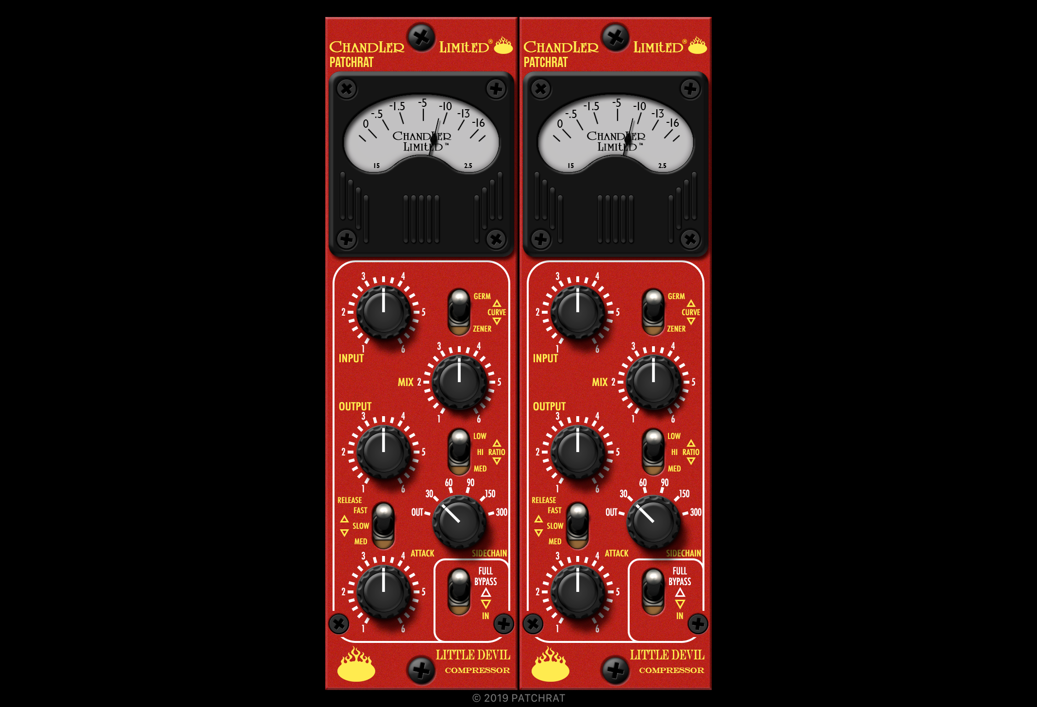 Chandler Limited Little Devil Compressor recall module for the Patchrat app