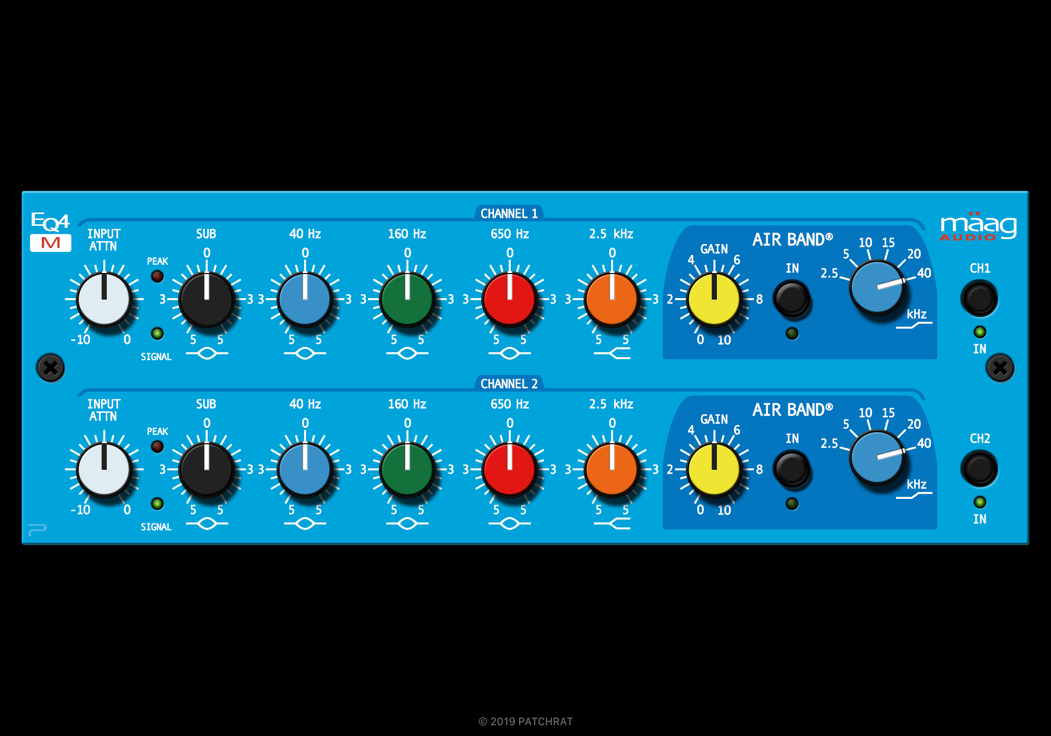 Maag Audio EQ4M recall module for the Patchrat app
