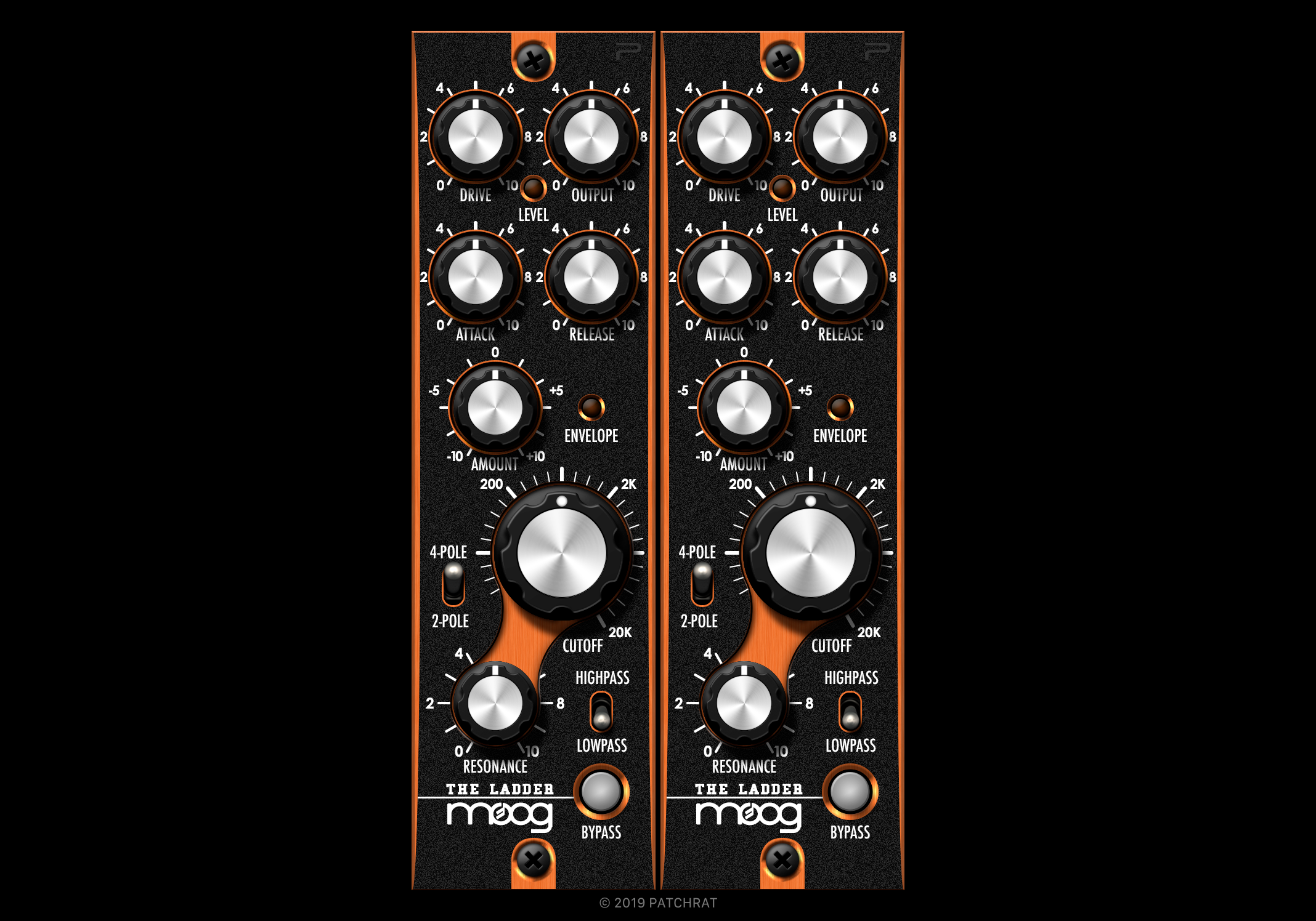 "Moog ""The Ladder"" recall module for the Patchrat app"