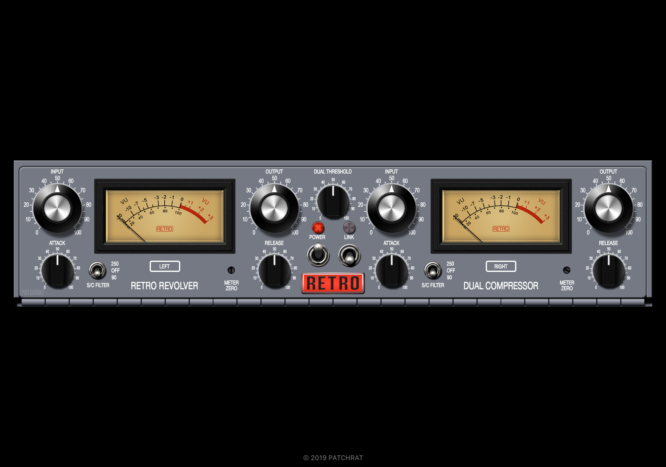 Retro Instruments Revolver recall module for the Patchrat app