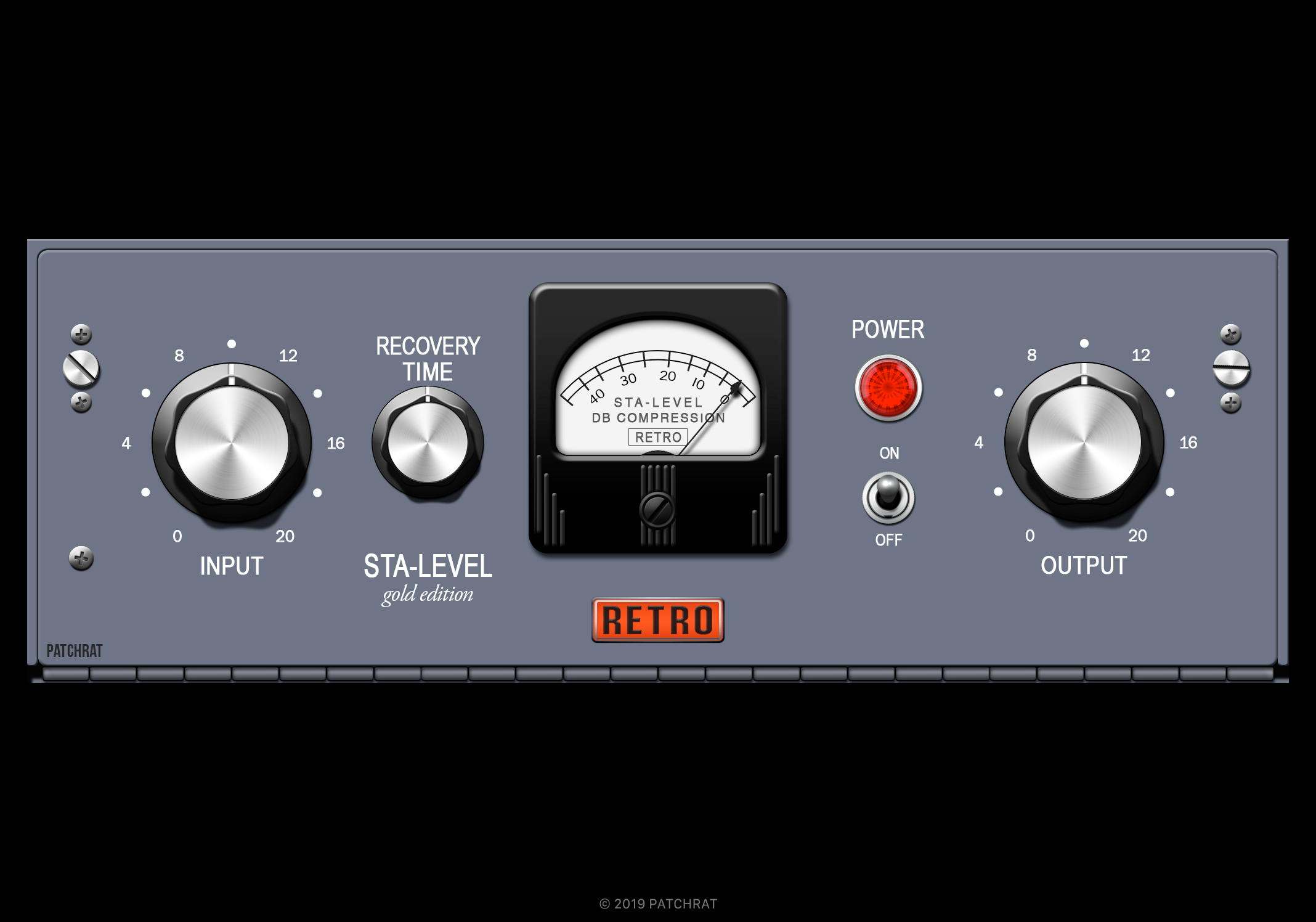 Retro Instruments Sta-Level recall module for the Patchrat app