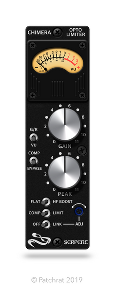 Serpent Audio Chimera recall module for the Patchrat app