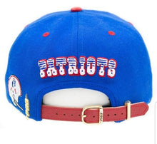 Pro Standard New England Patriots Retro NFL Strap Back - Leather Visor