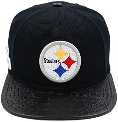 Pro Standard Pittsburgh Steelers NFL Strapback - Leather Visor