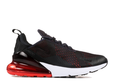 Men's Nike Air Max 270 Oil Grey-Habanero Red