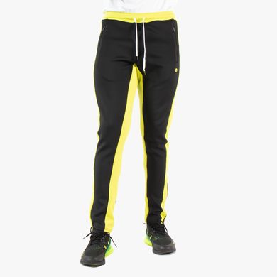 ELBOWGREASE HERO -TRACK PANTS (BLACK/NEON)