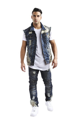 Smoke Rise Denim Vest
