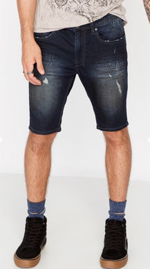 Buffalo David Bitton Parker X Dark Indigo Shorts