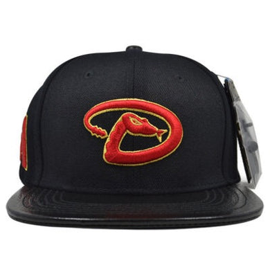 Pro Standard Arizona Diamond Back China Red Logo MLB Strapback Hat
