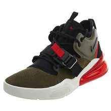 Men's Nike Air Force 270 Basketball Shoes Medium Olive/Black/Total Orange